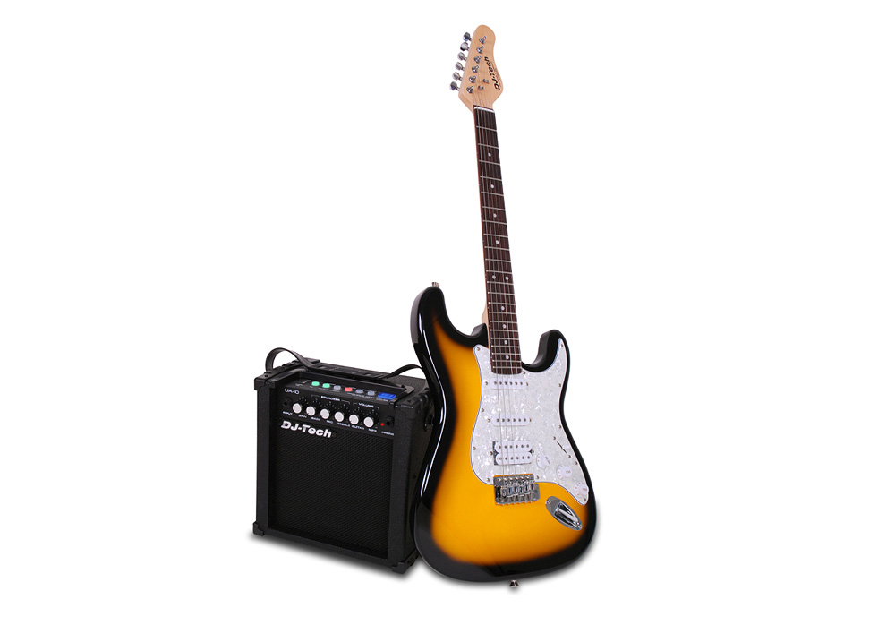 "DJ Tech USB Guitar Pack with 20 watts 6.5"" Full range Woofer"