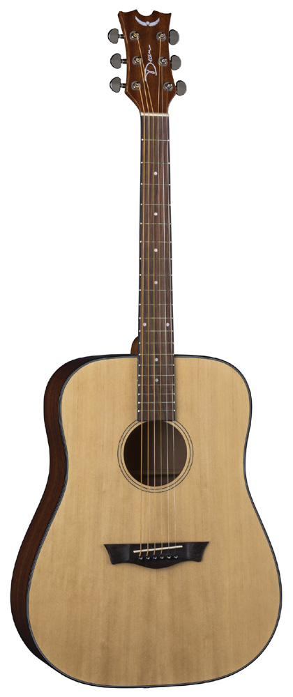 Dean 6-String Spruce Top AXS Prodigy Acoustic Pack Gloss Natural (AX PDY GN PK)