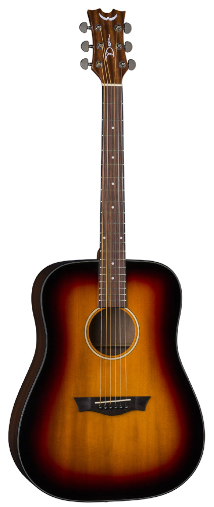 Dean 6-String Spruce Top AXS Prodigy Acoustic Pack Tobacco Snbrst (AX PDY TSB PK)