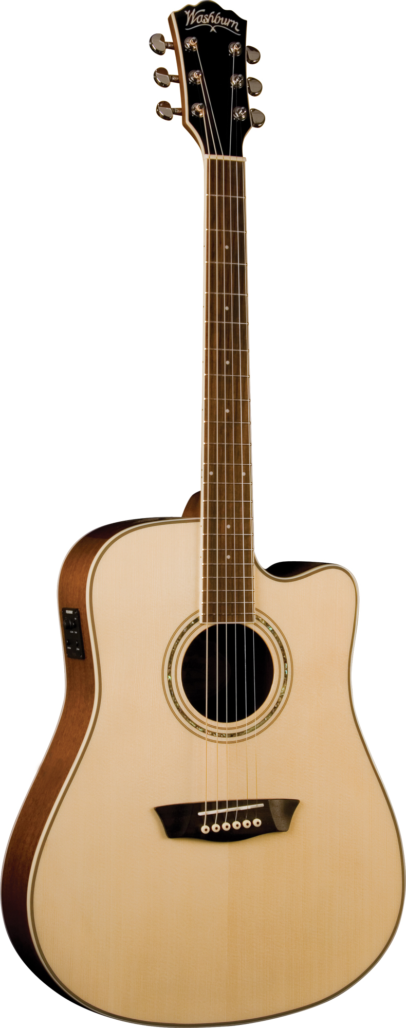washburn wcd18ce acoustic dreadnought cutaway style guitar with chrome tuners was12 wcd18ce. Black Bedroom Furniture Sets. Home Design Ideas