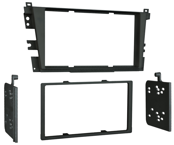 Metra 95-7868B Double DIN Dash Install Kit For Acura 2001