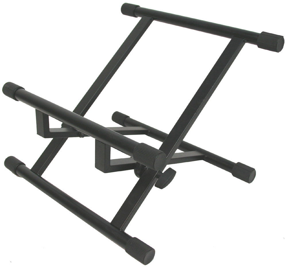 Professional Low Profile Guitar Amplifier or Combo 99 lbs Max Weight Angle Floor Stand