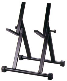 Peavey Combo Amp Stand with Reversible Cradle Black Finish 50lbs Weight Capacity (722880)