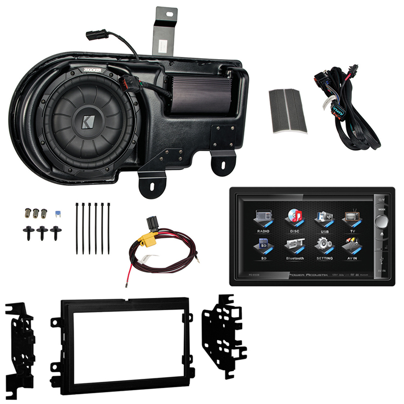 Kicker PF150C13 Ford F-150 Multi-Channel Amp & Sub Kit w/ (2) Coaxial Speakers