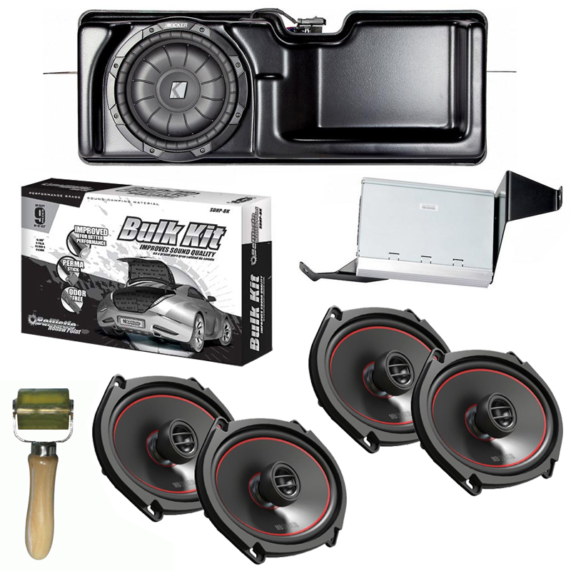 "Kicker PF150S11 Ford F-150 Audio Factory Upgrade w/ (2) 6x8"" Speakers & Bulk Kit"