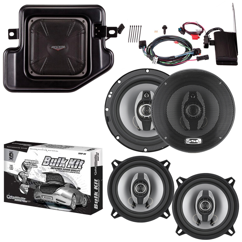 "Kicker PRAMCQ09-N Dodge RAM Multi-Channel Amp & Sub Kit w/ 6.5"" & 5.25"" Speakers"