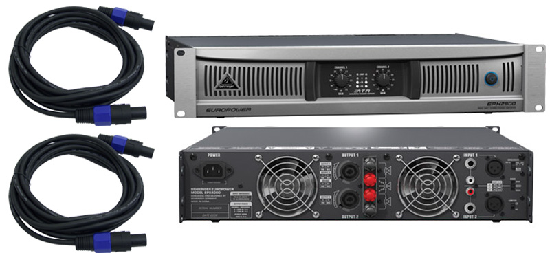Behringer Epx4000 Pro Audio Dj Pa Speaker 2 Channel 4000