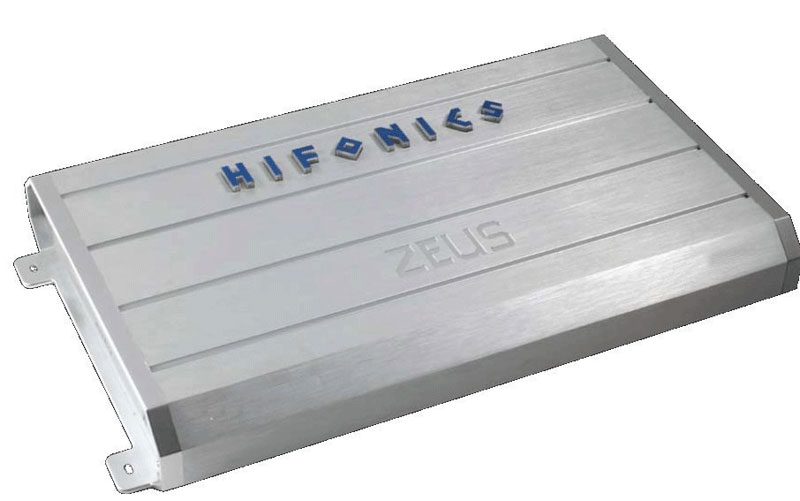 Hifonics ZRX600.4 Class A/B Zeus Series 4-Channel 600 Watts Max Power Car Amplifier