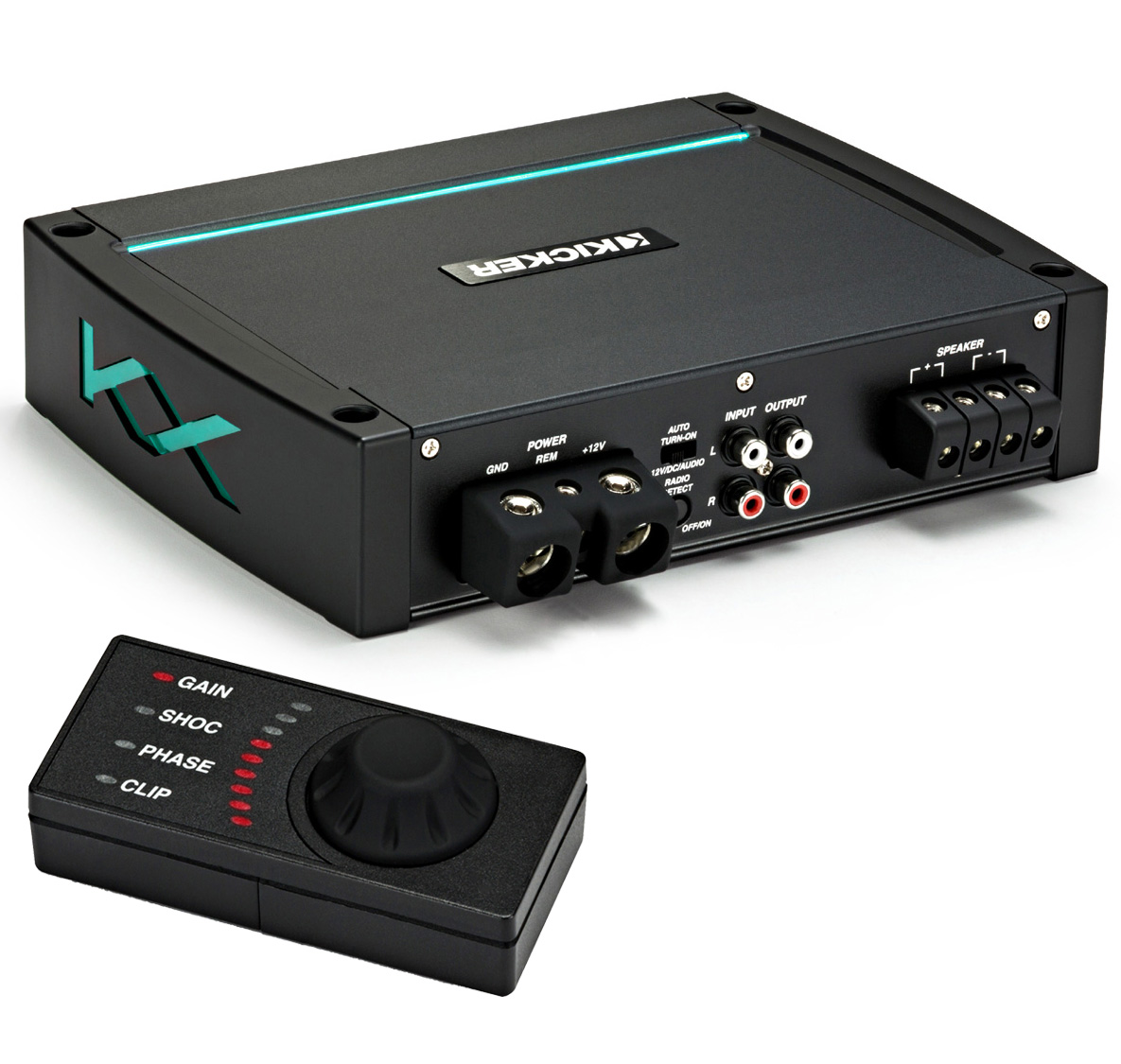 Kicker KXMA1200.1 Marine Audio Class D Boat Sub Amp 2400W Amplifier 44KXMA12001 - Limited Stock