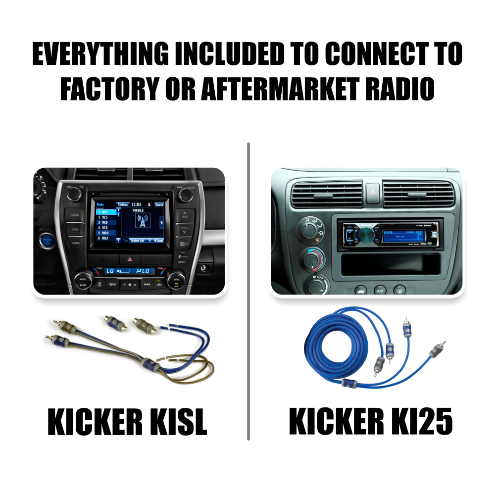 Kicker 43cxa6005 Car Audio 5 Channel Amp Cxa6005 With Remote 1 0 Details About 4 Gauge Premium Power Wire Wiring Kit 3000w Anl Install Ga Amplifier Accessory 3 Year Warranty