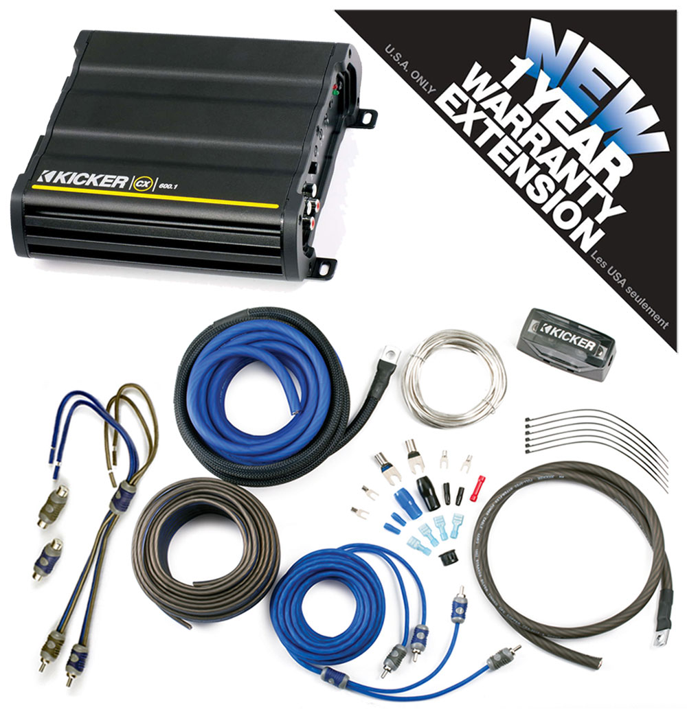 kicker cx600 1 wiring diagrams kicker wiring diagrams kicker cx600.1 car audio class d mono 600w amp package ...