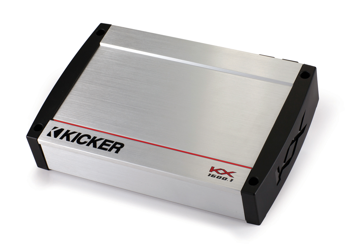 Kicker KX1600 1 Car Audio Class D Mono 1600W Amp Package & PKD1 Amplifier  Kit - 3 Year Warranty!