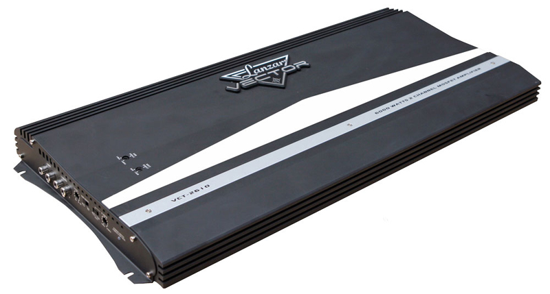 Lanzar VCT2610 6000 WATTS 2 Channel High Power MOSFET Amplifier