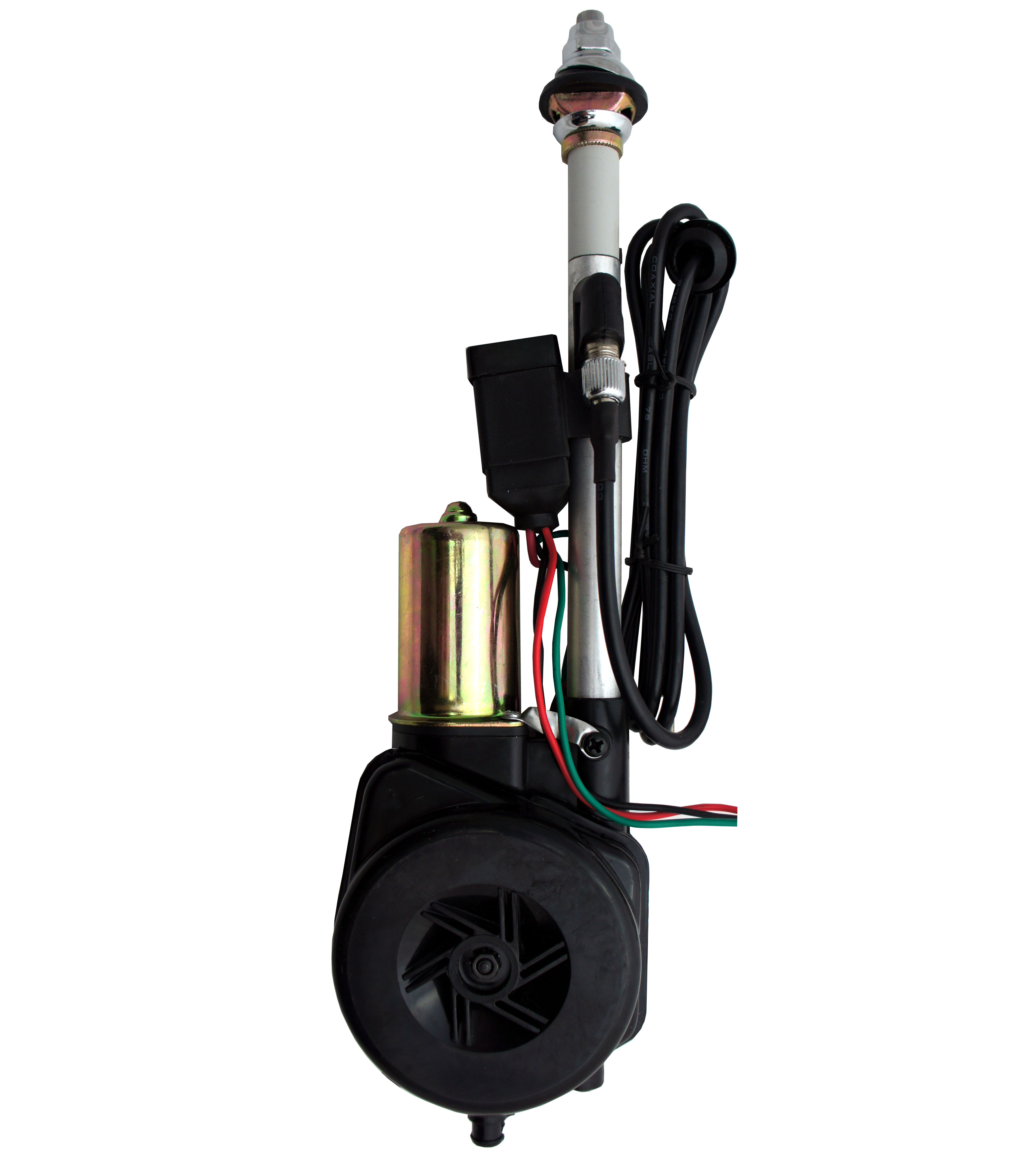 """Harmony Audio 44PW22 Fully Automatic 12 Volt Replacement Power Antenna 31"""" Mast"""