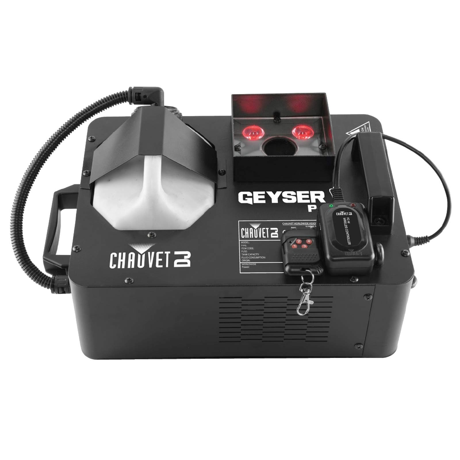 Chauvet DJ Geyser P4 2-in-1 Small Form Factor Pyrotechnic-Like ...