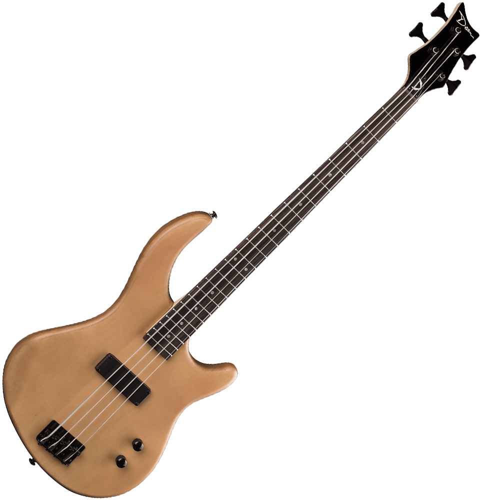 Dean Edge 09M Bass Guitar Mahogany Top Rosewood Fingerboard w/ Bolt-On Maple Neck - Satin Natural Finish (E09M SN)
