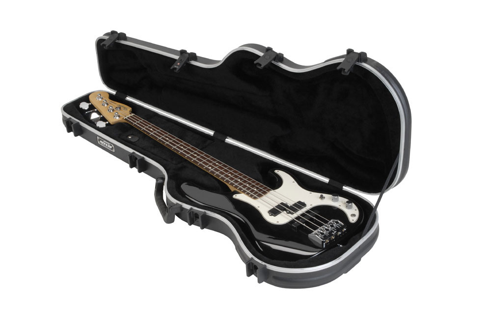 SKB Cases 1SKB-FB-4 Injection Molded Case for Precision Style Electric Bass Guitars (1SKB-FB4)
