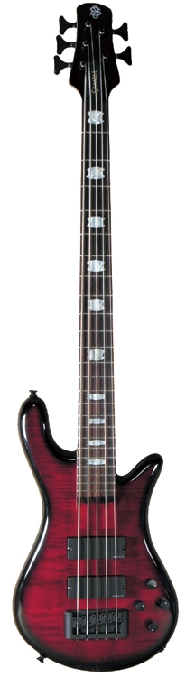 spector europe series rebop 5dlx fm 5 string deluxe bass guitar black cherry gloss finish. Black Bedroom Furniture Sets. Home Design Ideas