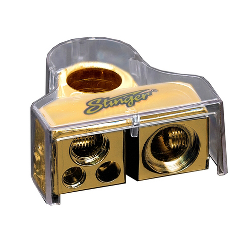 Stinger SPT83102 PRO Multiple Output Battery Terminal Gold Plated ...