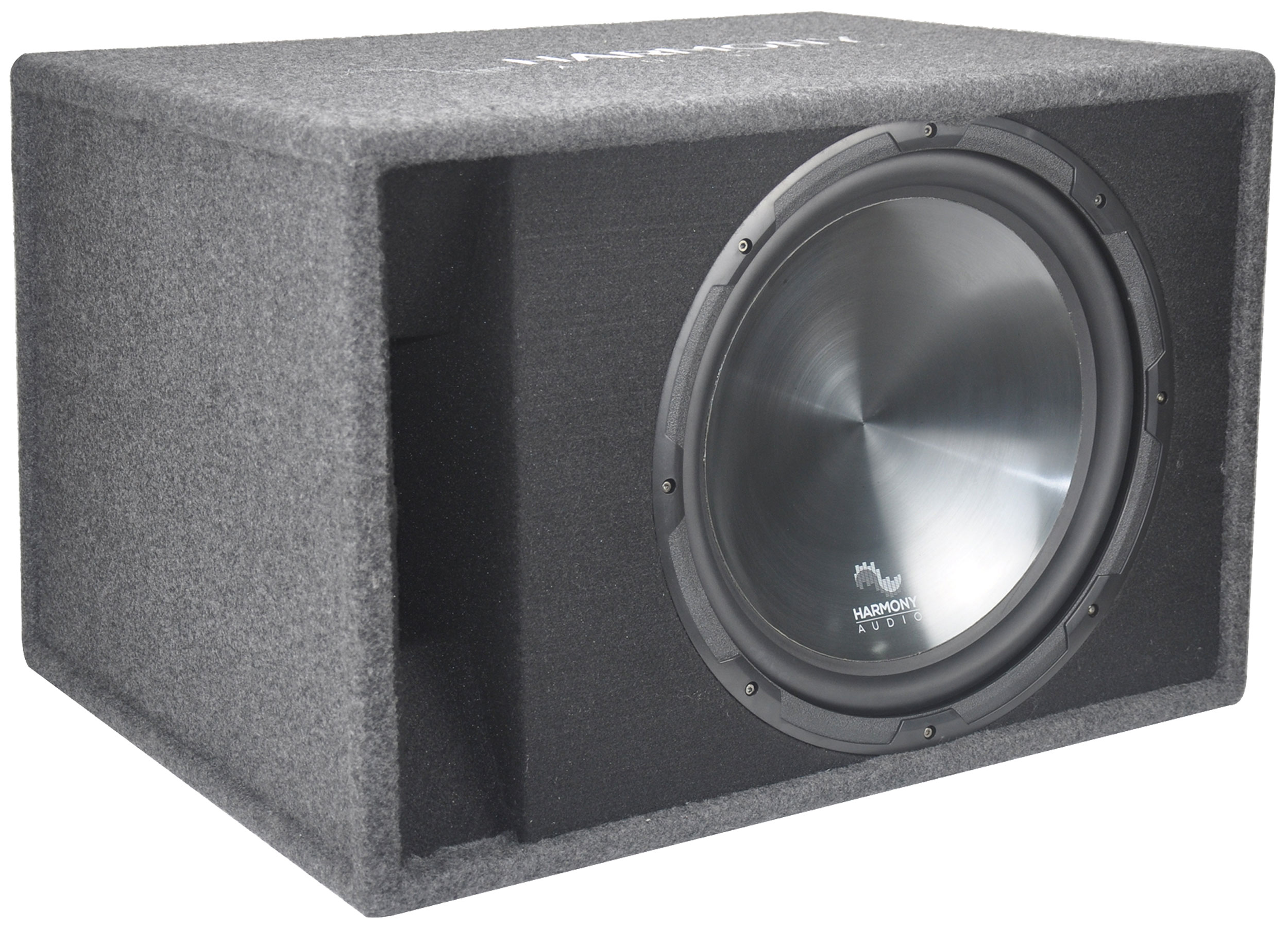 "Harmony Audio HA-RS15 Car Stereo Rhythm Loaded 15"" Vented 900W Sub Box Enclosure"