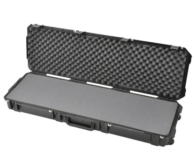 "SKB 3I-5014-6B-L Waterproof Plastic Molded 50.5"" Gun Case for Blaser Bolt Action Rife"
