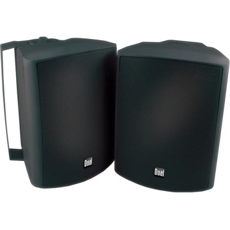 Dual LU53PB Home Audio Black 5.25 Inch Indoor Outdoor Speakers