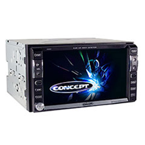 Concept Ddm 65 Car Audio 6 5 Screen Double Din Mp3 Cd Dvd Player