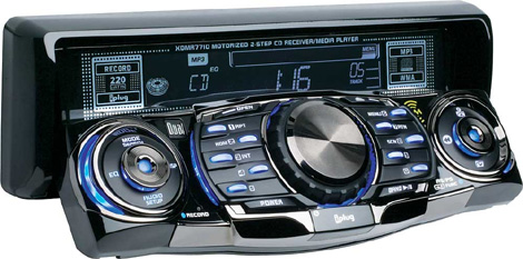 Dual Audio XDMR7710 Car Stereo Motorized MP3 WMA CD Player iPod Control Radio