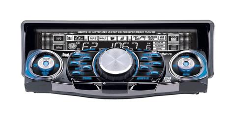 Dual XDM7610 Car Stereo In-Dash AM/FM/CD/MP3 Player