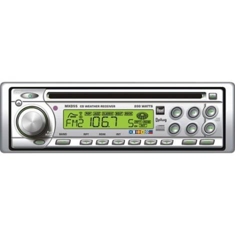 Dual MXD55 Marine AM/FM/CD Player Boat Receiver