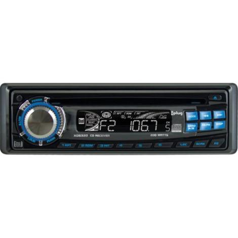 Dual XD-6320 Car In-Dash Stereo AM/FM Receiver CD Player