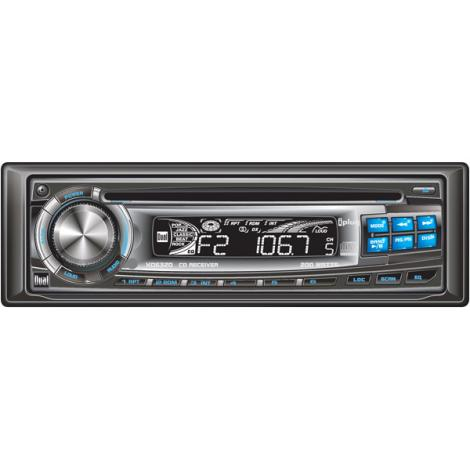 Dual XD6320 AM/FM/CD DETACHABLE FACE W/ AUX IN
