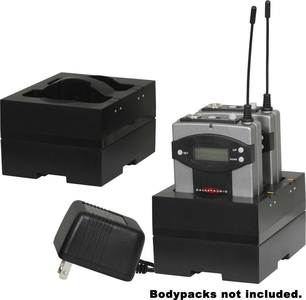 Galaxy Audio AS-DCTVMBP DC Charger for Traveler & AS-QUAD Bodypacks