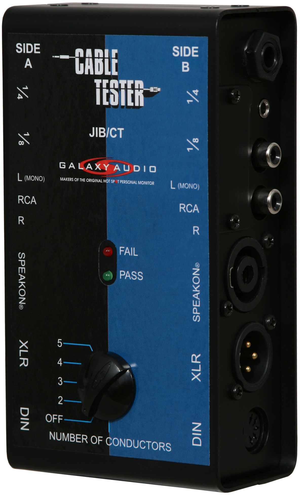 Galaxy Audio JIB/CT Jacks in the Box Cable Tester