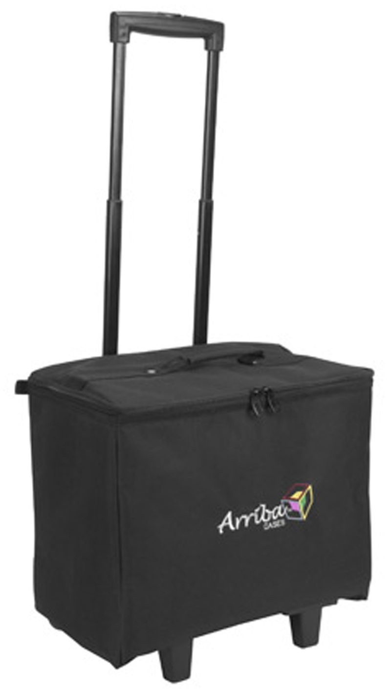 Arriba ACR16 Multi-purpose Stackable Rolling Case - Bottom Case with Wheels