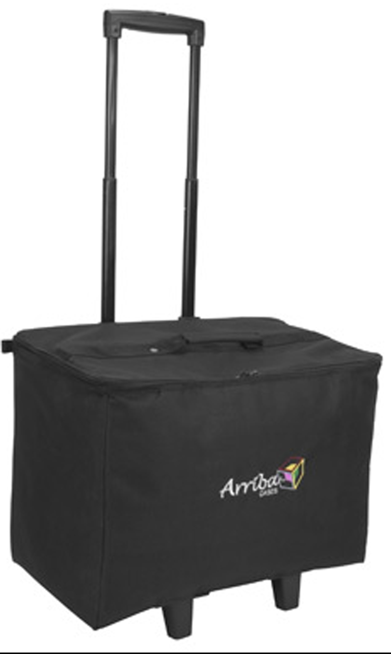 Arriba ACR19 Padded Stackable Rolling Bag with Wheels Multi-purpose