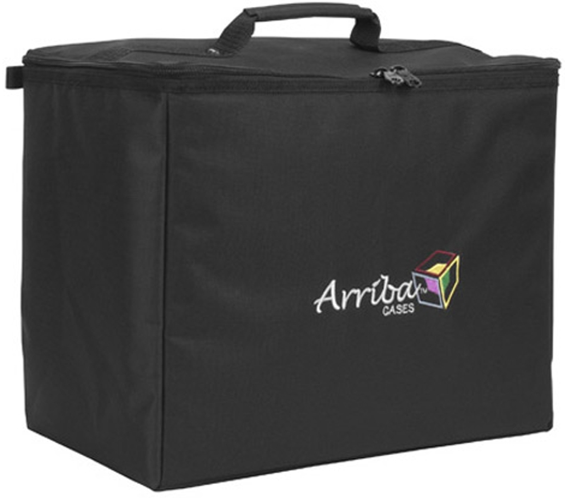 Arriba ATP-16 Multi-Purpose Case Stackable Rolling Case Padded