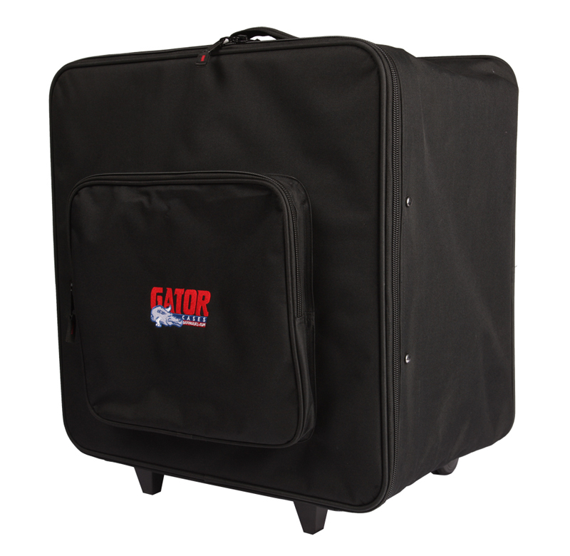 Gator Cases G-PAR 64LED4 Case Carries 4 Par 64 LED's