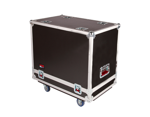 Gator Cases G-TOUR SPKR-2K12 Tour style case to hold (2) QSC K12 speakers. Accessory compartment for cables and connectors.