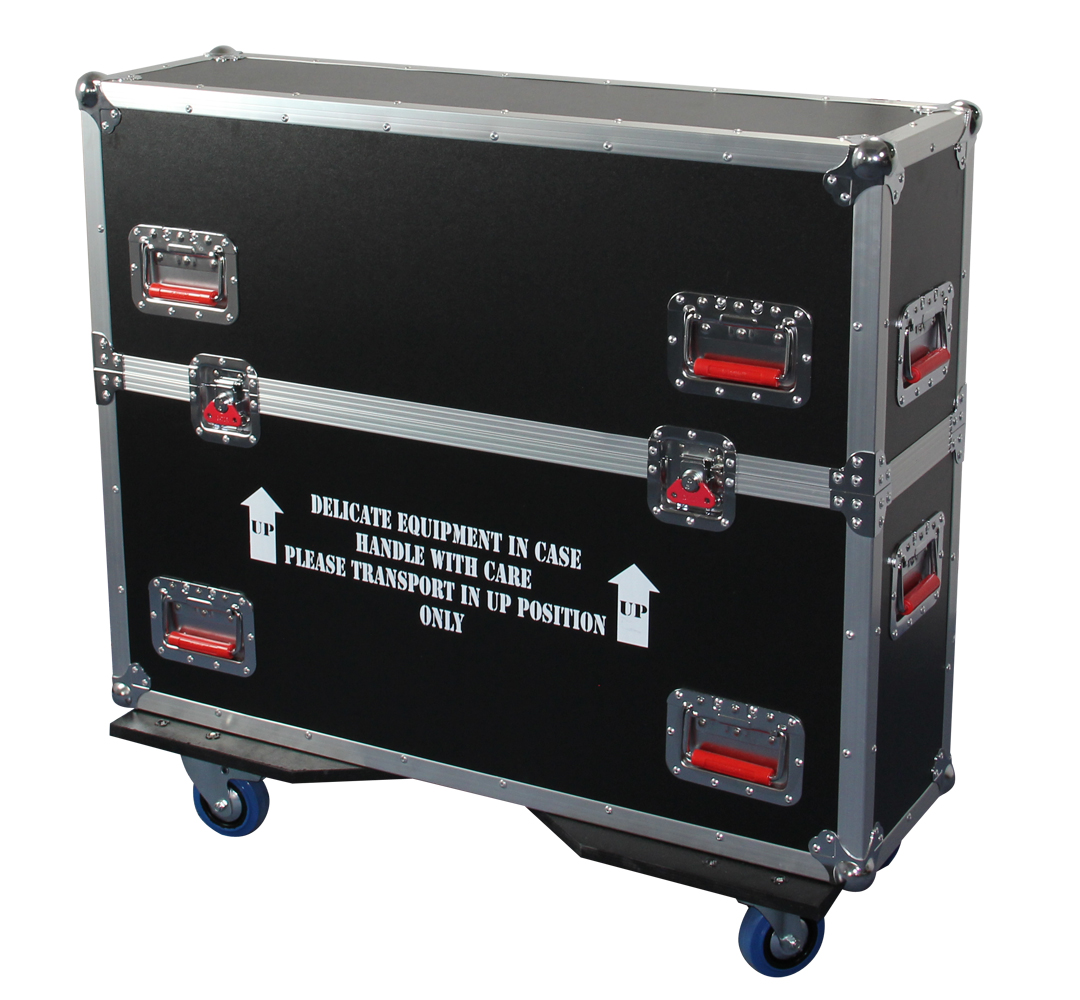 Gator Cases G-TOURLCDV2-2632 G-TOUR case designed to easily adjust and fit most LCD, LED or plasma screens in the 26 to 32 inch class. Interior dims 32.5 X 6.3 X 25.5 (Available Q4 2012)