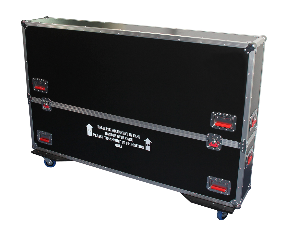 Gator Cases G-TOURLCDV2-6065 G-TOUR case designed to easily adjust and fit most LCD, LED or plasma screens in the 60 to 65 inch class. Interior dims 62.5 X 6.3 X 36 (Available Q4 2012)