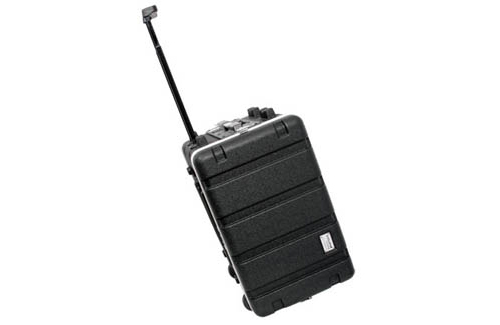 Galaxy Audio CCABS6W 2U ABS Palstic Molded Case with Wheels & Handle