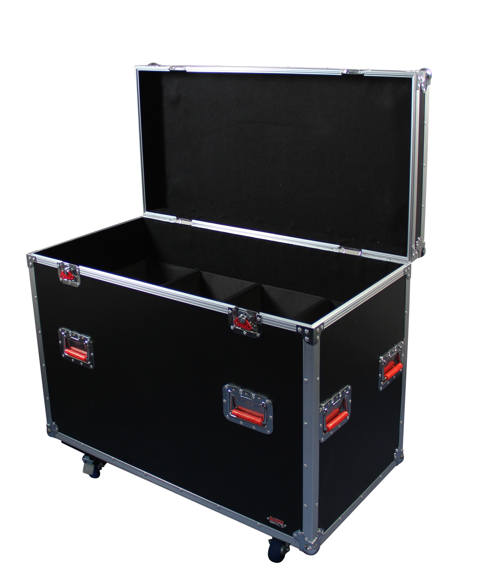 Gator Cases G-TOUR LEKO-S4 ATA LIGHTING FIXTURE CASE for 8 Leko Style Fixtures with Wheel Casters