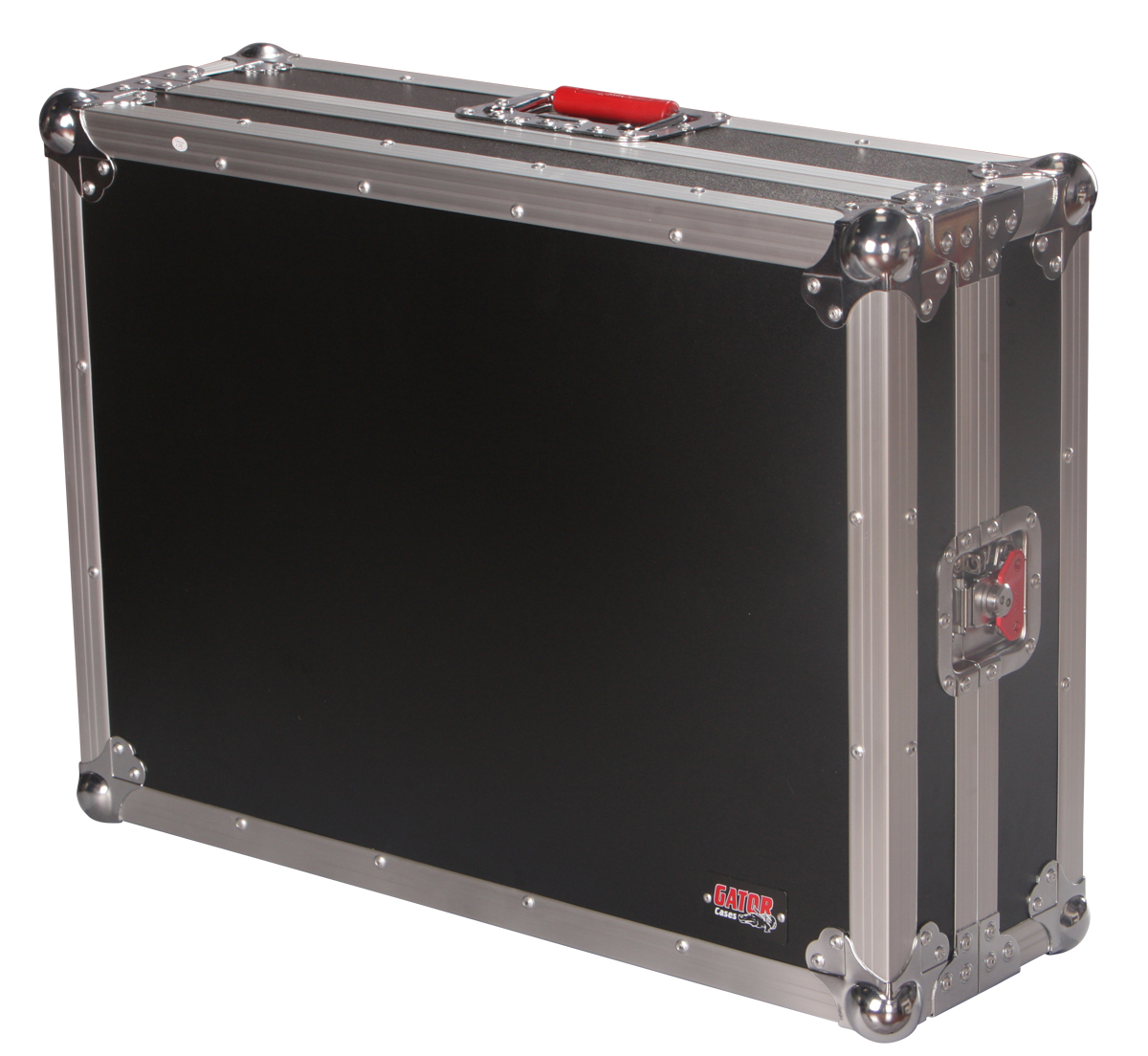 Gator Cases G-TOURUNICTRL-B DJ Controller Flight Case with Spring-Loaded Rubber Grip Handle