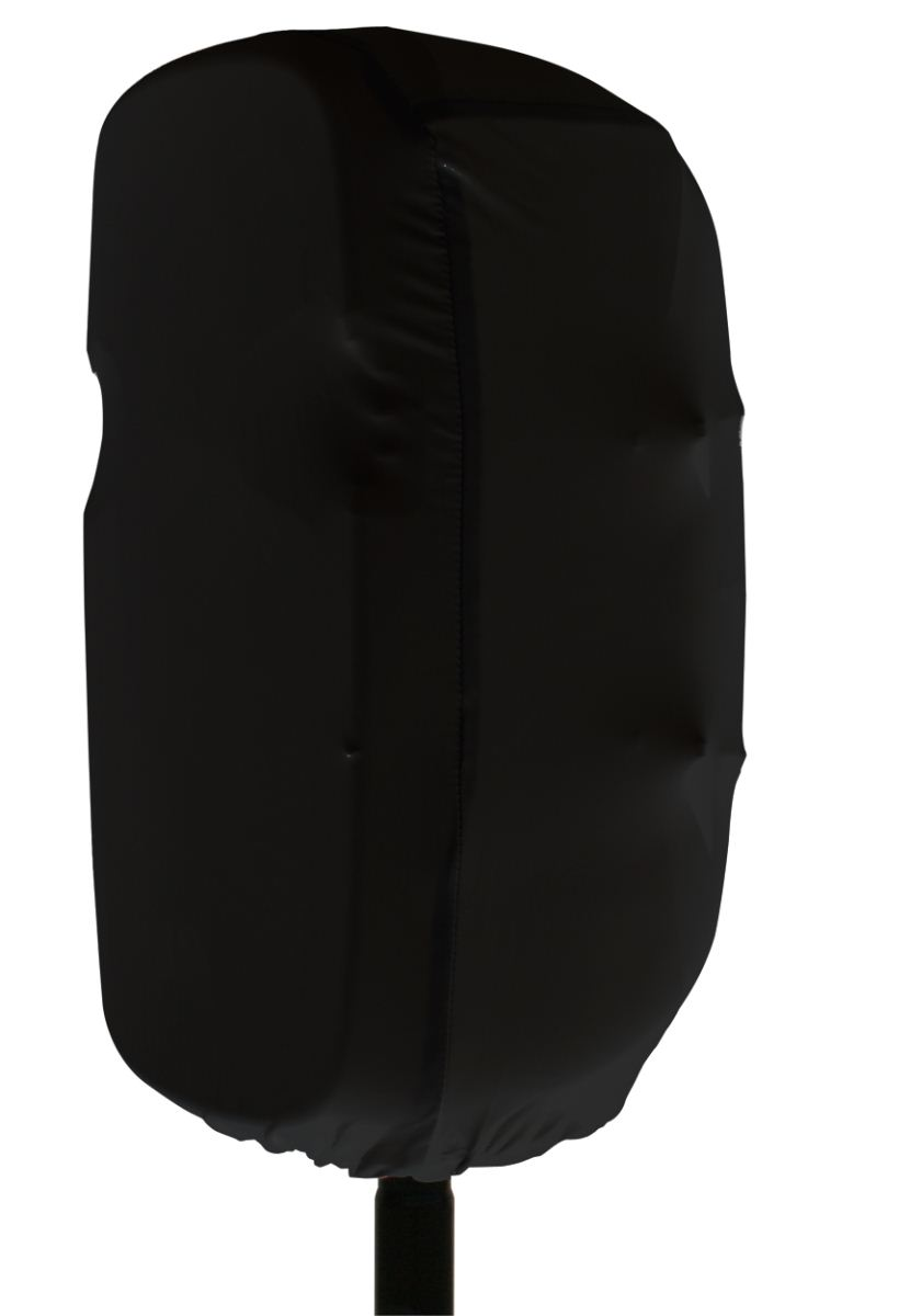 Gator Cases GPA-STRETCH-15-B Stretchy dust cover to fit most 15 inch portable speaker cabinets. Black
