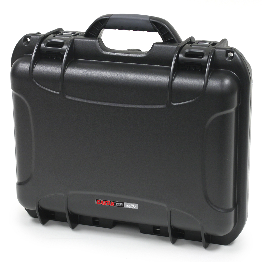 """Gator Cases GU-1510-06-WPNF Black waterproof injection molded case with interior dimensions of 15"""" x 10.5"""" x 6.2"""". NO FOAM"""