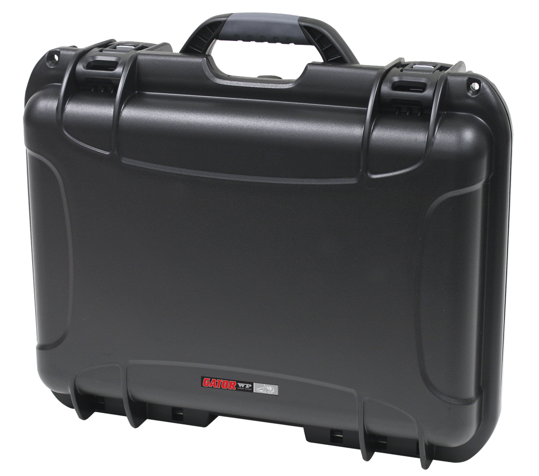 """Gator Cases GU-1711-06-WPNF Black waterproof injection molded case with interior dimensions of 17"""" x 11.8"""" x 6.4"""". NO FOAM"""
