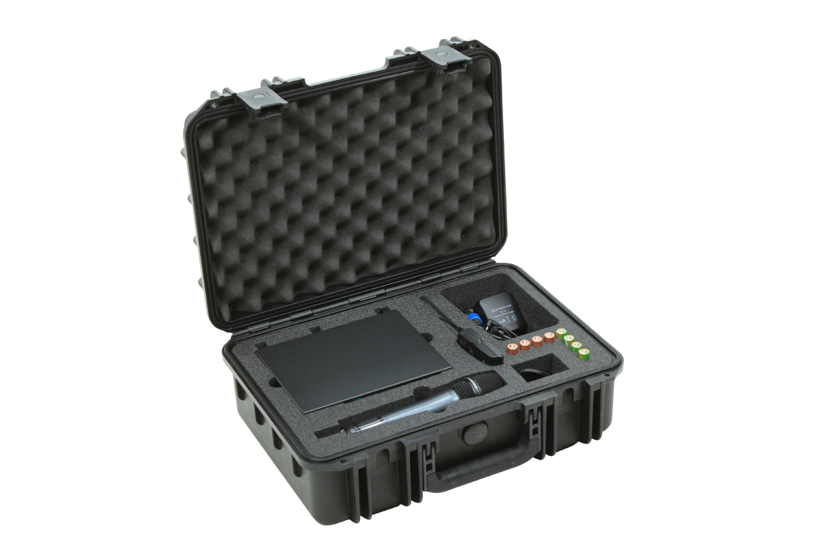 SKB Cases 3I-1711-SEW iSeries Injection Molded Case for Sennheiser EW Wireless Mics