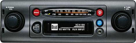 Dual XC4100 AM/FM/Cassette Receiver 30Watts