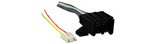Metra 70-1677-1 Wiring Harness for Select 1978-1993 GM / Chevrolet Vehicles